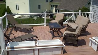 Old Saybrook house photo - Take in the Sun on this beautiful rooftop deck!
