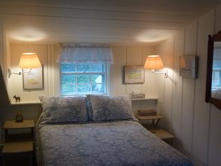 Wellfleet house photo - Freshly painted middle bedroom with double and twin.