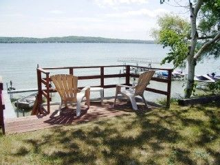 Lake Leelanau cottage rental - Relax by the lake!