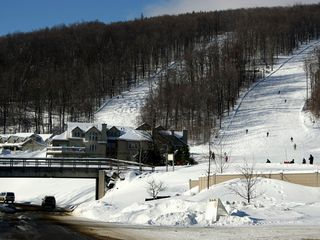 Ludlow condo photo - The view of Solitude from Okemo Ridge Road