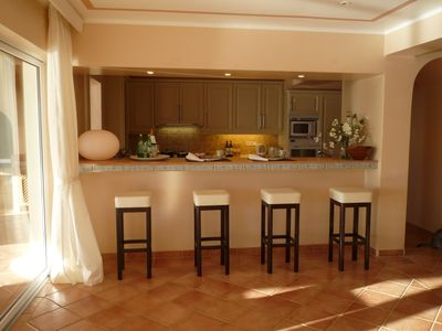 vista alegre top spacious villa with fabulous view in luxury,American Kitchen And Bar,Kitchen cabinets