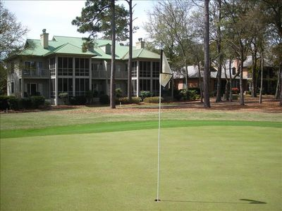 Back View of Villa from the 9th Green
