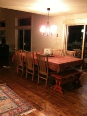 Black Butte Ranch house photo - Hand scraped wood floors
