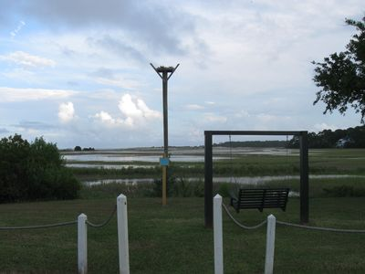 Osprey nest on Harbor Island--we are an Audubon designated Important Bird Area.