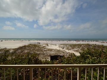 Clearwater Beach condo rental - Beachview from balcony