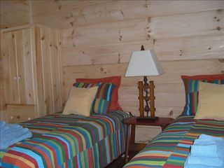 Berkeley Springs cabin photo - Bedroom #3, twin, convertable to Euro-king