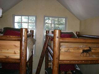 Brighton cabin photo - All furniture, mattresses, pillows and linens purchased new in 2012.