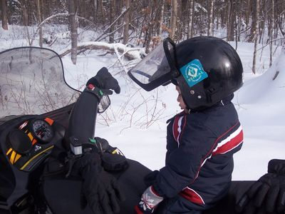 Snowmobiles, cross county or snow shoe