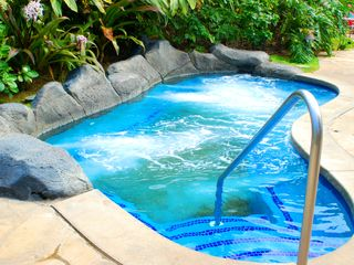Waipouli condo photo - Sand bottom jacuzzi is wonderful. Three on the property.