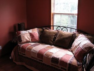 Asheville house photo - daybed coverts to two twin beds