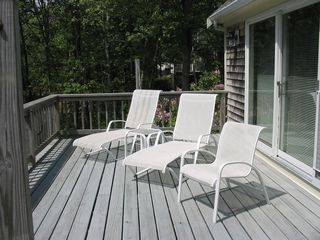 Eastham house photo - Deck Lounge Area
