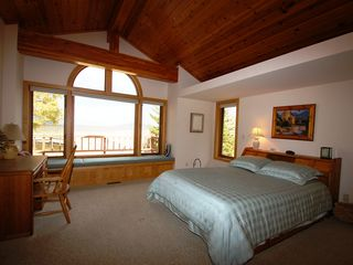 Jackson Hole house photo - Master Bedroom with Queen Bed - Master Bedroom with Grand Teton Views and Queen Bed