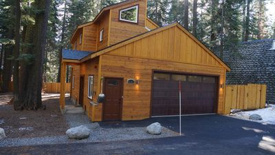 Tahoe West Shore Cabin, Brand New! (2015), Sleeps 8-10, Hottub, Wifi, Cable, +