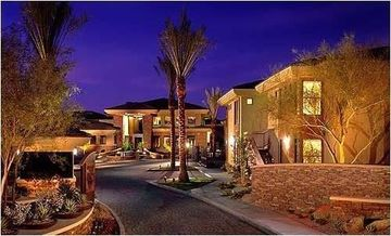 Other Scottsdale Properties condo rental - Main entrance at night...stunning!!!