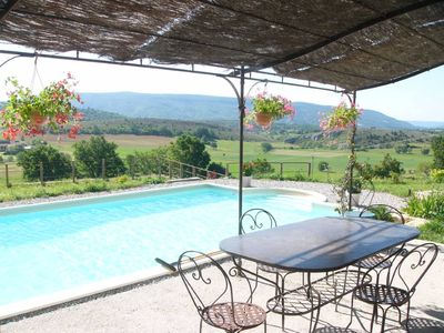 Haute Provence - Spacious holiday in farmhouse 18th with heated pool