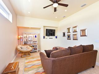 Ormond Beach house photo - Settle into our comfy leather sofas and watch the HDTV