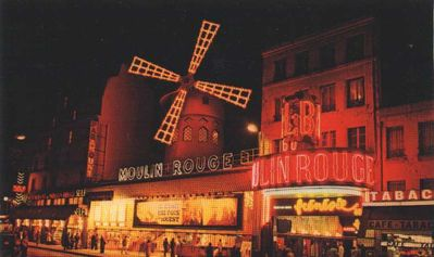The Moulin Rouge theater
