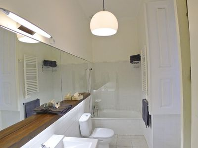 Suite bathroom- bathtub with shower head