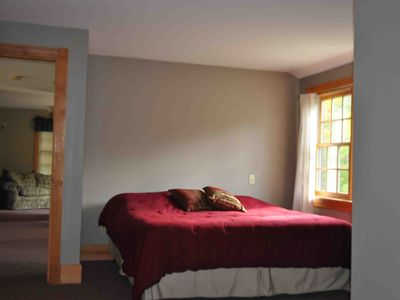 Carrabassett Valley house rental - Master Bedroom
