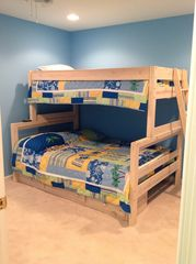 Wildwood condo photo - Cool room for kids to hang out . Full size bed on bottom single on top