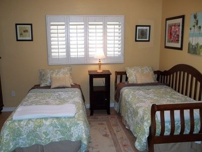 Chandler house rental - Bedroom #3 with two twins or push together for a king