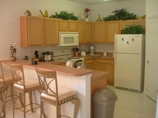 Haines City house photo - open plan kitchen and breakfast bar