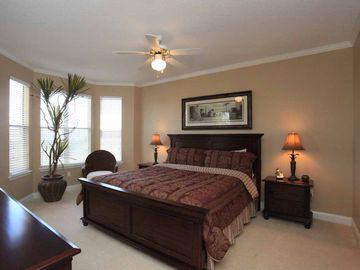 Master bedroom - spacious