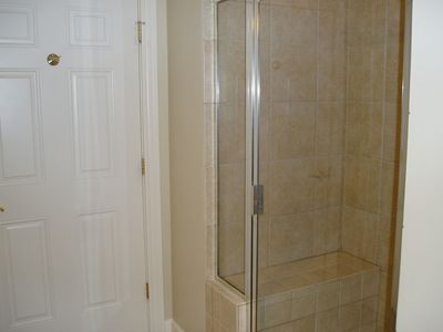 Kingston Plantation condo rental - Shower in the 2nd Bathroom.
