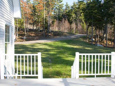 Boothbay Harbor house rental - Two Acre Lot With Privacy, Peace and Quiet