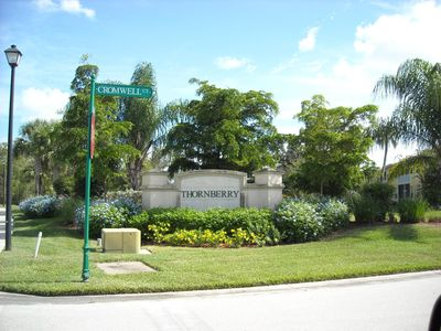 Entrance to Neighborhood of 'Thornberry'