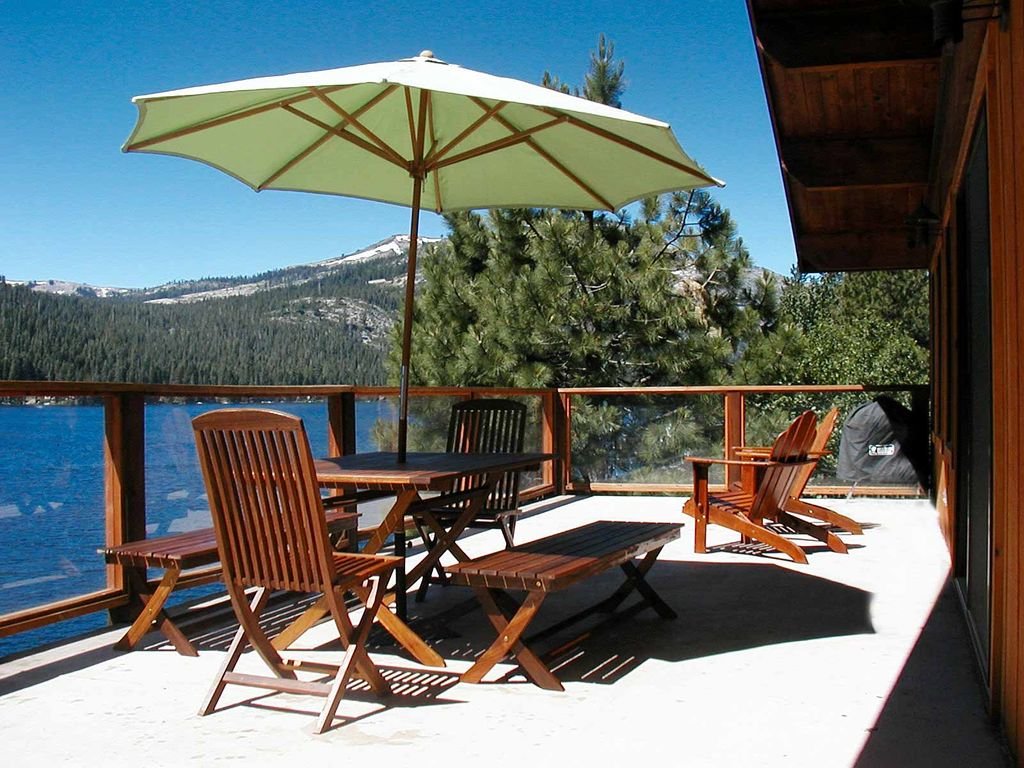 Donner Lake Summer Donner Lake Home With View And