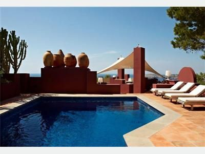 deluxe villa beach pool ibiza