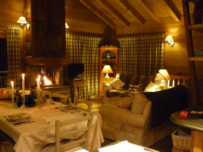 Traditional Chalet Courchevel Free Shuttle Bus to Le Praz and ski-lifts