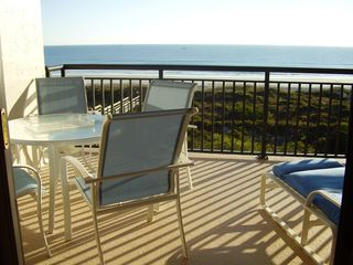 St. Augustine condo photo - Seaside Dining ~ Breathtaking Views, Overlooks Pool