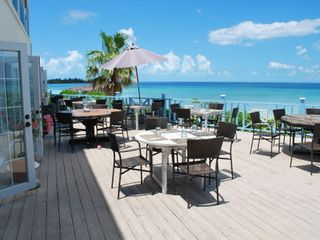 Governor's Harbour hotel photo - Dining patio