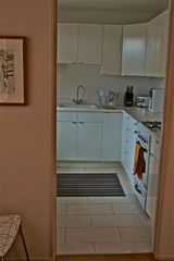 Tucson condo photo - All new kitchen with professionally finished cabinets and gas stove...