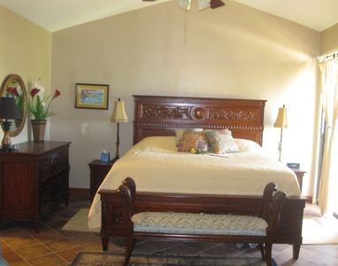 St. Croix condo rental - Part of the of master bedroom