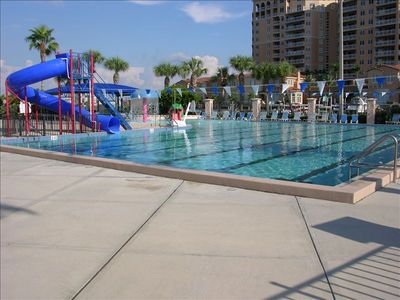 Clearwater Beach Aquatic Center (Reopens in March - fees apply)
