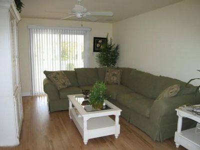 1st Floor Family Room with TV, DVD player Surround Sound and Queen Sleeper