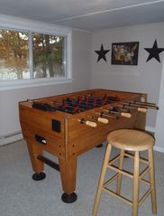 Penn Lake cottage photo - Fooseball Game Room