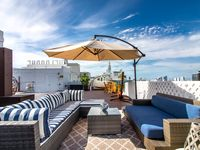 Beachfront Penthouse at Shelborne Hotel South Beach 3500 SQFT Private Rooftop steps to Beach