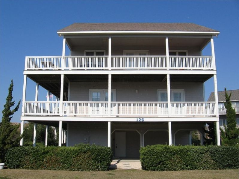 Atlantic Beach House Rental Beautiful 4 Bedroom House On Beachfront Cul De Sac Homeaway