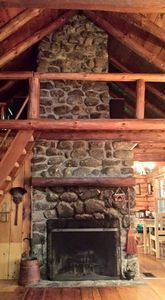 A beautiful log cabin in jackson new hampshire vrbo for New hampshire log cabins