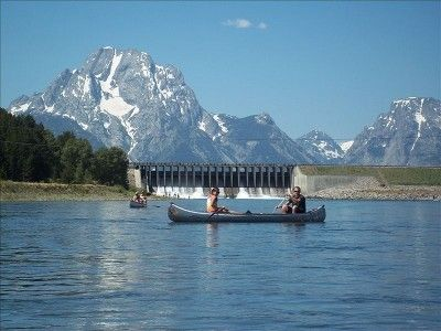 .Teton Mountains - 200 Mile north of Salt Lake