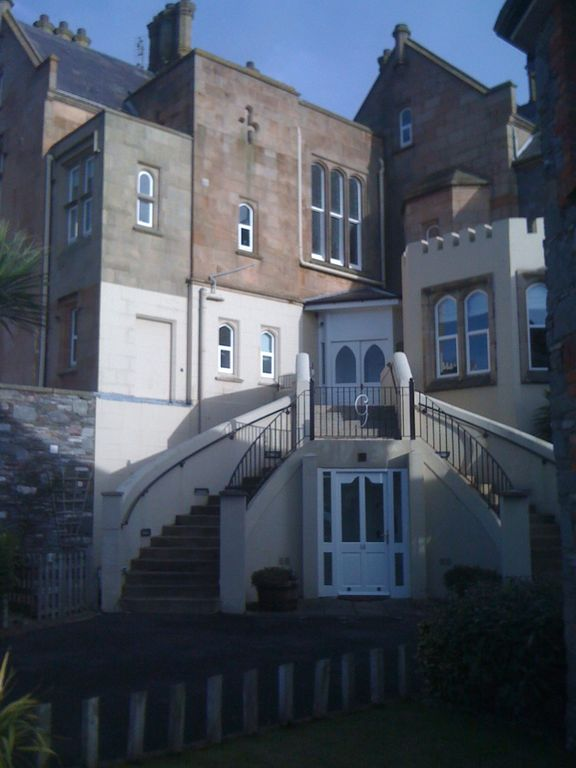 County Down apartment rental - Outside staircase to apartment
