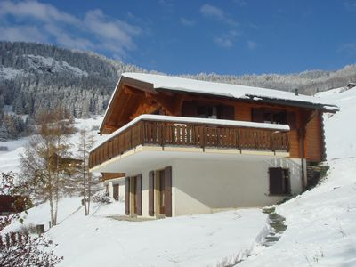 Near Verbier peaceful Swiss village, stunning views