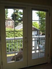 Santa Cruz apartment photo - French doors lead out to private balcony