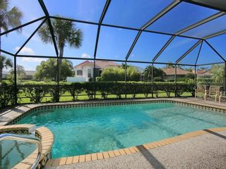 Osprey house photo - 15X30 caged pool and spa