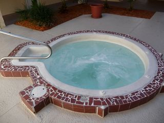 St. Augustine Beach condo photo - Hot tub outside your door