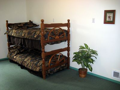 Downstairs Bunk Beds